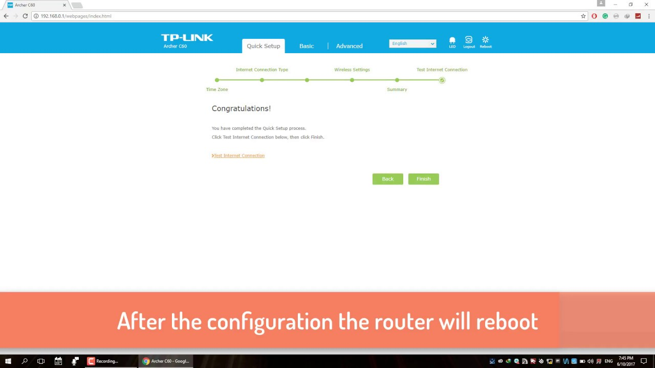 Fresh Configuration and Setup TPLINK AC 1350 Wireless Dual Band Router