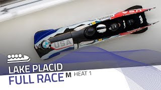 Lake Placid | BMW IBSF World Cup 2019/2020 - 4-Man Bobsleigh Race 2 (Heat 1) | IBSF Official