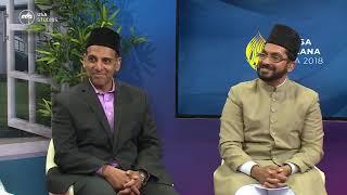 Imam Shamshad A Nasir at Jalsa USA 2018