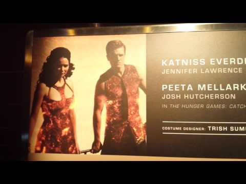 Hunger Games Exhibition Walk Through Louisville Ky Part 1