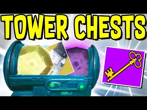 "Destiny 2 - HOW TO GET ""DANCE PARTY KEY"" & ""LOOT A PALOOZA KEY"" TO UNLOCK TOWER CHESTS!"