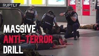 German cops carry out 'the largest counter-terrorism drill in 20 years'