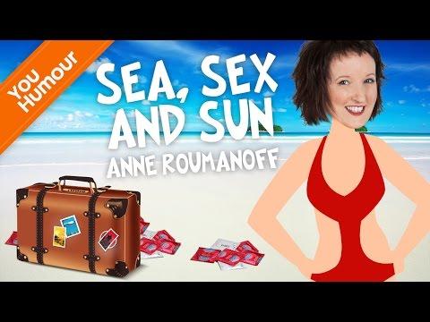 Anne ROUMANOFF, Le départ en vacances