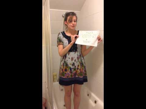 Emma James' (really icy!) Ice Bucket Challenge