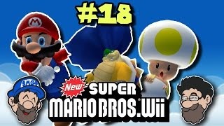Pulley Problems    New Super Mario Bros Wii    PART 18