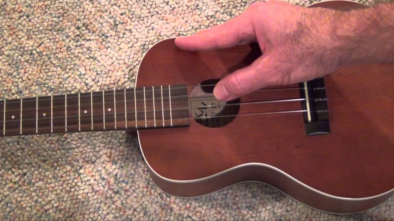 Tuning Your Ukulele by Ear - YouTube