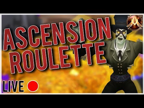 WoW Ascension | Ascension Roulette LIVE! | Season 3 Gameplay