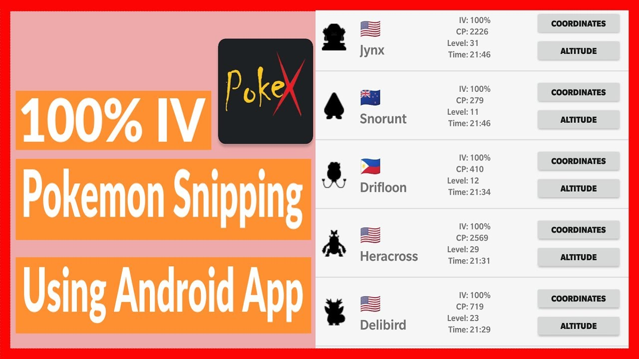 Pokesniper APK Download for Android - Latest WORKING Update [2019]