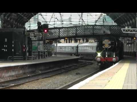 The Royal Train at Newcastle With LNER A1 Pacific No 60163 T