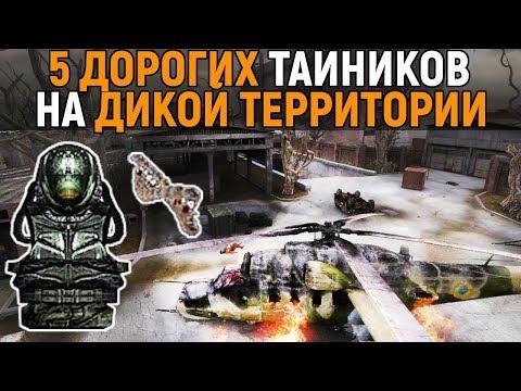 5 самых дорогих тайников. Сталкер - Тень Чернобыля. Дикая территория.