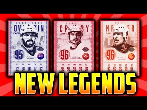 NHL 18 HUT - INSANE ULTIMATE LEGENDS CARDS IN HUT! NHL 18 NEW HOCKEY ULTIMATE  TEAM CONTENT!