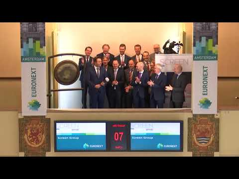 Screen Group Celebrates Euronext partnership and integration with TRG