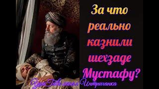 За что реально казнили шехзаде Мустафу? Великолепный век (Интриганка)
