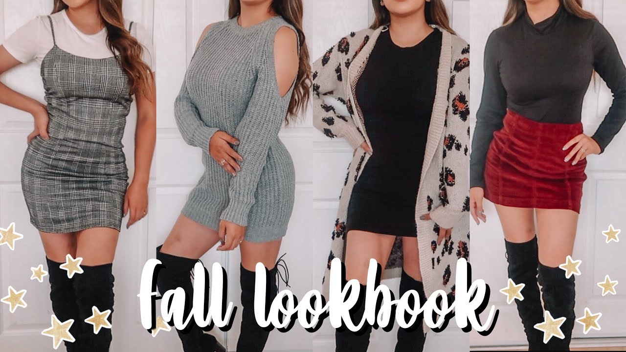 [VIDEO] - FALL LOOKBOOK/ THANKSGIVING OUTFIT IDEAS 2019 2