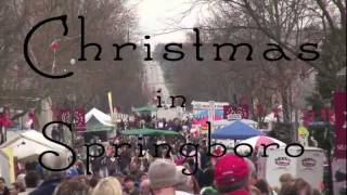 Christmas in Springboro, Ohio Provides Fun for the Whole Family
