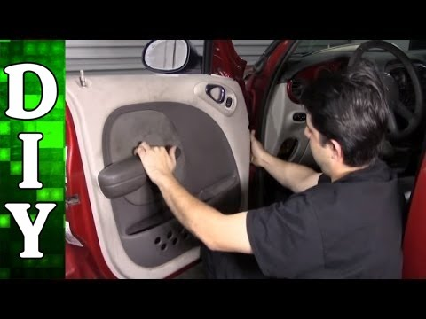 How to Replace a Window Regulator and Motor – Chrysler PT Cruiser