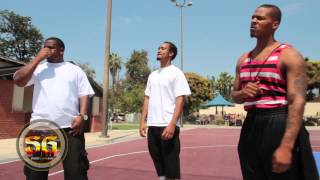 Rapper V8 posted at Jackie Robinson Park in Pasadena -  PDL turf