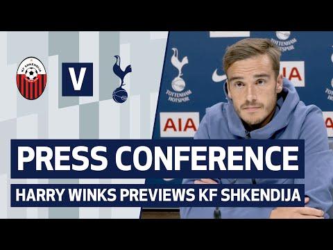 PRESS CONFERENCE   HARRY WINKS PREVIEWS KF SHKENDIJA