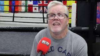 FREDDIE ROACH WARNS ANDY RUIZ OVER LOSING WEIGHT FOR AJ / 'TOO MUCH MUSCLE WILL SLOW JOSHUA DOWN'
