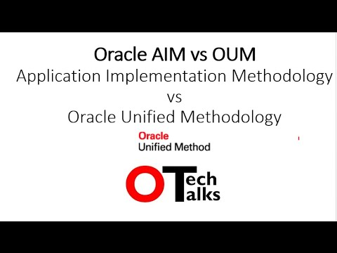 Oracle Unified Method (OUM) Vs Oracle AIM