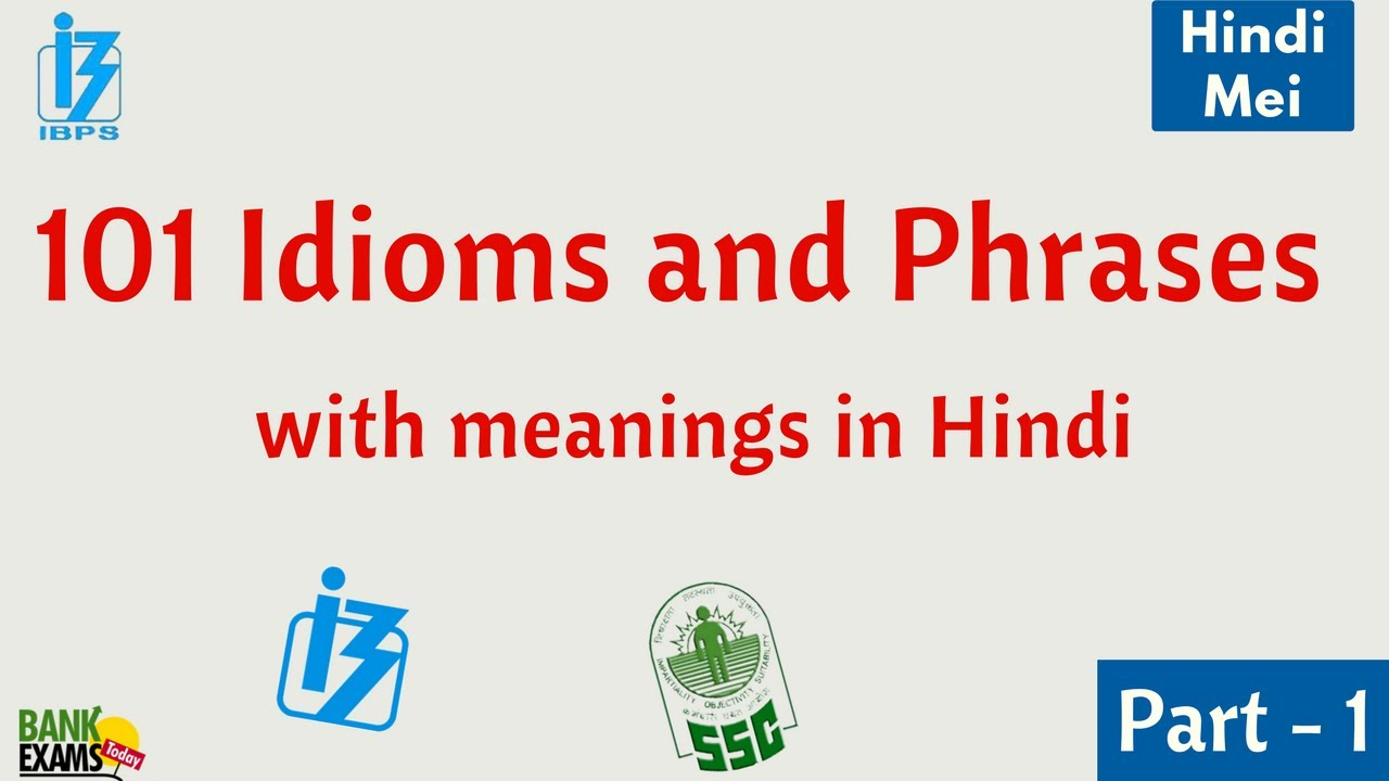 With pdf hindi phrases meanings and idioms