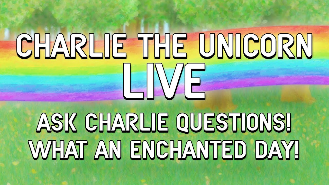 Charlie the Unicorn's LIVE Oscars Spectacular! - Charlie the Unicorn creator Jason Steele livestreams himself voicing and 'puppeteering' Charlie, while talking about the simultaneously occuring 2016 Oscars.