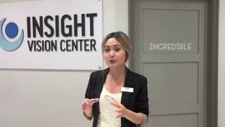 Anti-Reflective Coating Demonstration - Insight Vision Center Optometry