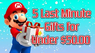 5 Last Minute Gifts for Retro Gamers Under $50.00 In 2019