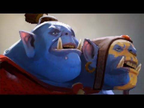 Dota 2 Hero Spotlight Aggron Stonebreaker The Ogre Magi
