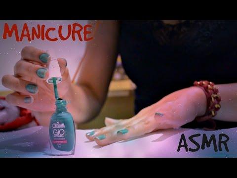 ASMR - Manicure/Nail Filing & Painting