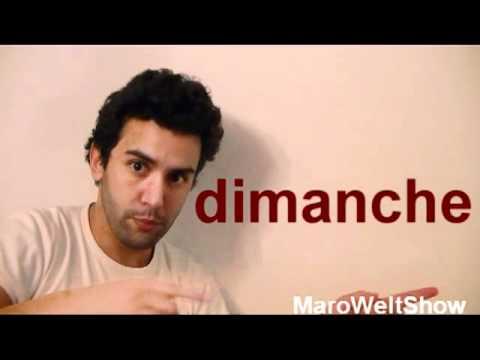 Französisch für Anfänger mit Maro - Wochentage Französisch - Lektion 8