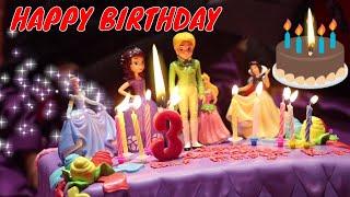 Download Selamat Ulang Tahun Elsa 3 Tahun - Pesta Ulang Tahun Balita | Happy Birthday Party Holland Cake