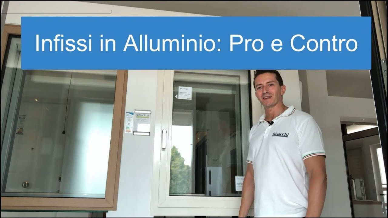 Colori Infissi In Alluminio guida infissi in alluminio: perchè sceglierli e perchè evitarli