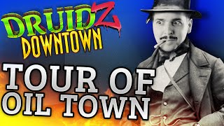 Minecraft Druidz Downtown #5 - Tour of Oil Town