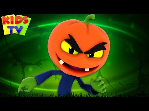 There's a Scary Pumpkin | Super Supremes Cartoons | Halloween Songs for kids