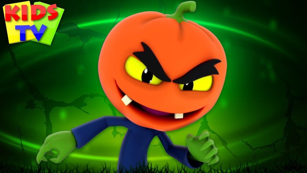These kids songs are great for learning the alphabet, numbers. There S A Scary Pumpkin Super Supremes Cartoons Halloween Songs For Kids Youtube