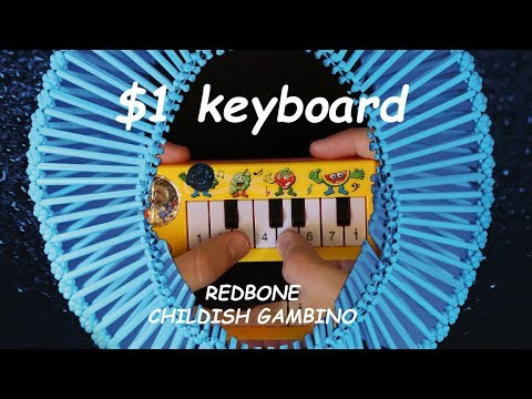 What would Redbone sound like if it was played on a $1 piano that I found on ebay?
