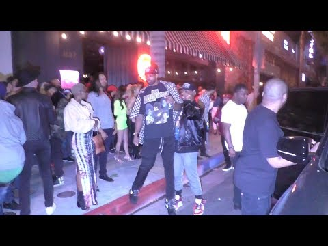 Tristan Thompson Was WASTED Outside of a Club in Hollywood