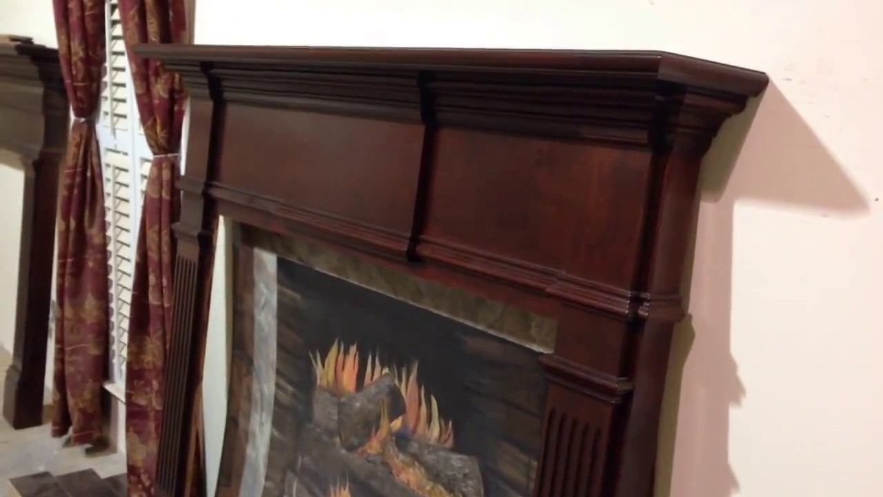 Cherry Fireplace Mantels The Kingsport Mantel Cherry Classic Custom Fireplace Mantels