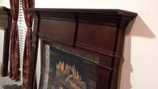 The Kingsport Mantel (cherry) - Classic Custom Fireplace Mantels
