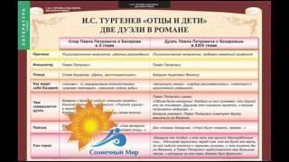 """Таблицы демонстрационные """"Литература 10 класс"""" - видео презентация."""