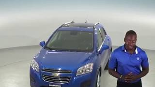 A96736PT - Used, 2016, Chevrolet Trax, LT, Blue, SUV, Test Drive, Review, For Sale -