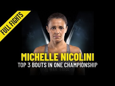 Michelle Nicolini's Top 3 Bouts | ONE Full Fights