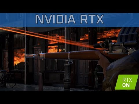 Battlefield 5 - Gamescom 2018 NVIDIA RTX Comparison [HD 1080P]