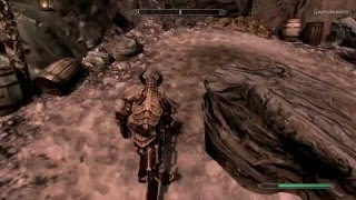 The Elder Scrolls V Skyrim Эбонитовая руда (сумрачная шахта)