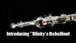 Space Engineers | Star Wars Rebel Battle - Blinky's Rebellion!