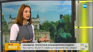 Кои партии влизат в следващия парламент при избори - Здравей, България (21.11.2018г.)