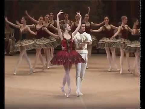 Отрывки из Гран па балета Paquita 28 01 2010