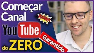 💛Criando Um Canal do Zero - Primeiros Passos [Começar Canal Youtube]