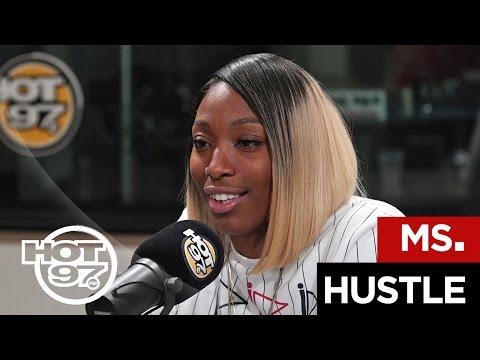 Ms. Hustle Freestyles On Flex   #FREESTYLE058